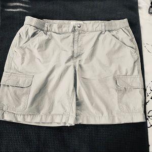 Columbia sportswear cargo shorts